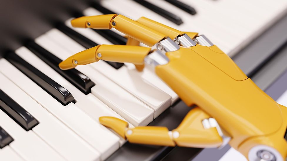 Many experts believe machines will not only be composing music but also performing it within the next decade or so (Credit: Alamy)