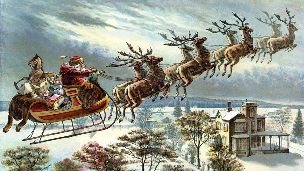Since the Victorian era, many of us have envisioned the ideal Christmas as a snowy one (Credit: Alamy)