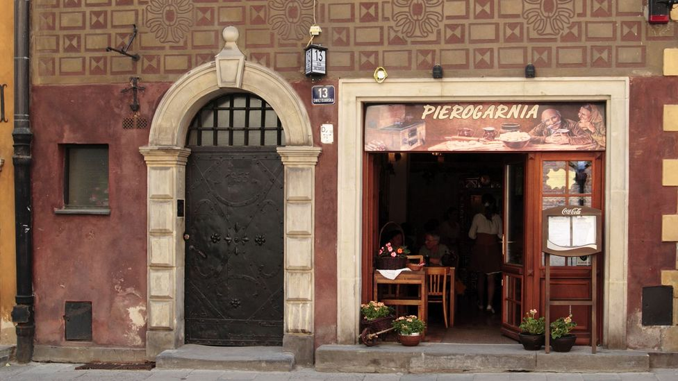 A pierogarnia is an affordable restaurant dedicated to pierogi (Credit: Stephen Roberts Photography/Alamy)