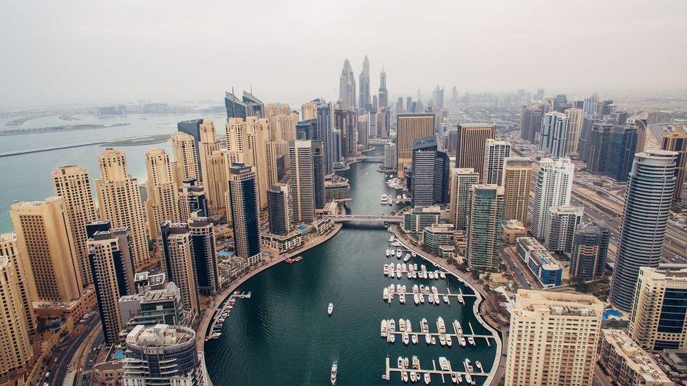 The UAE city of Dubai has a reputation as an enclave for high-paid foreign professionals (Credit: Getty Images)
