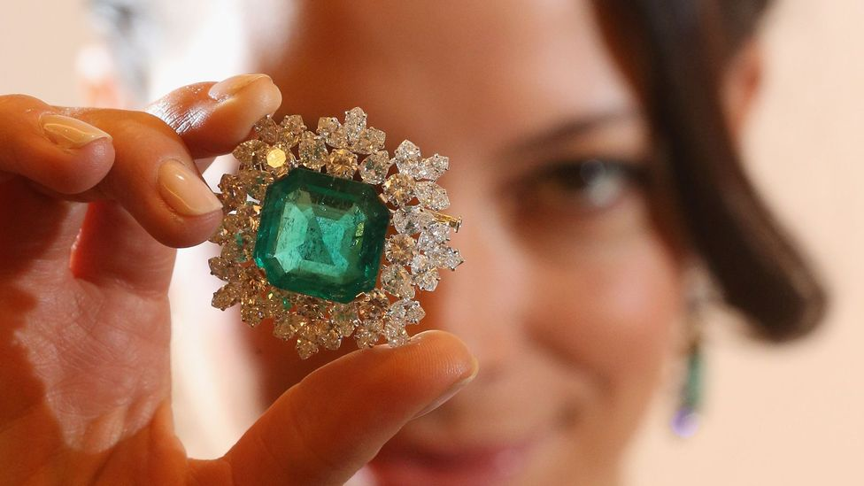 The journey from mine to consumer for coloured gemstones is a complex one (Getty Images)