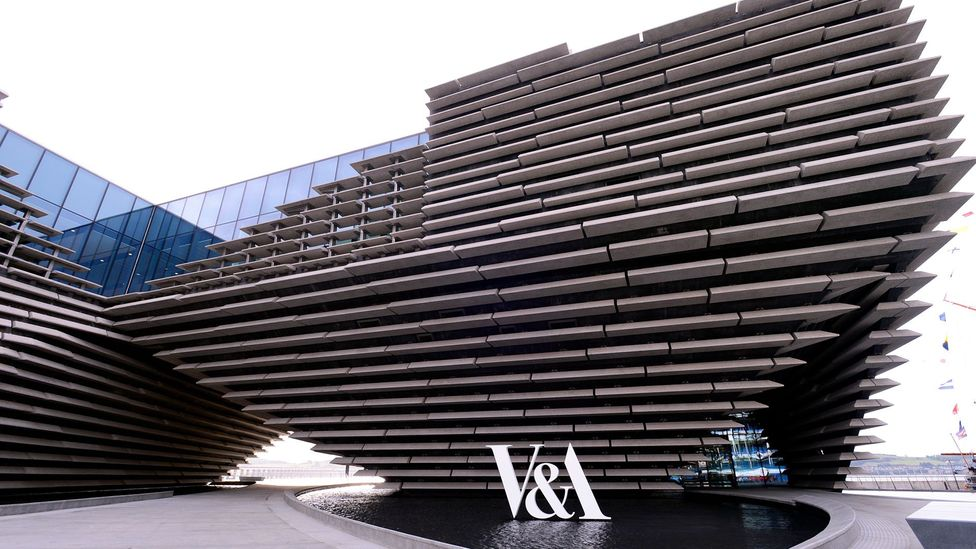 The striking design of the V&A Dundee was influenced by the Scottish cliffs (Credit: Getty)