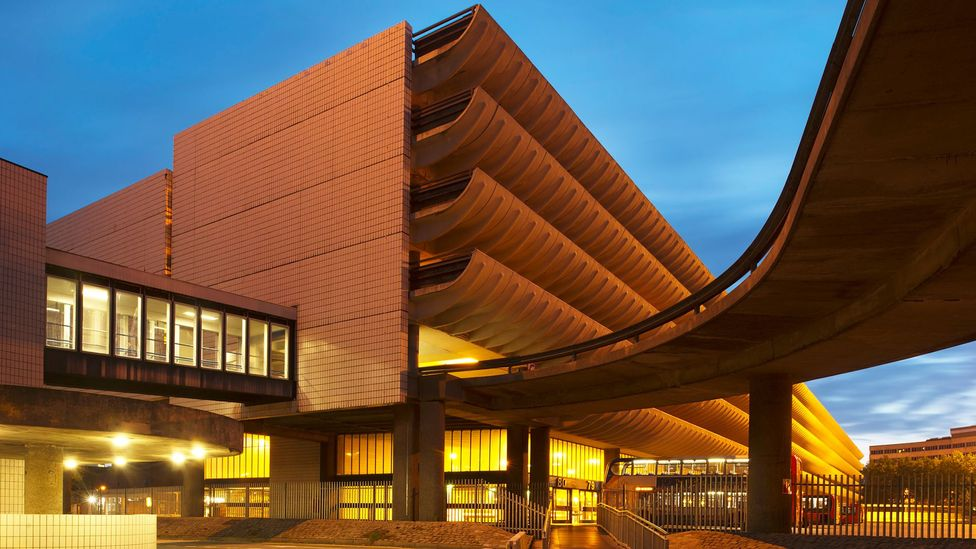 The brutalist Preston bus station has been revived (Credit: Getty)