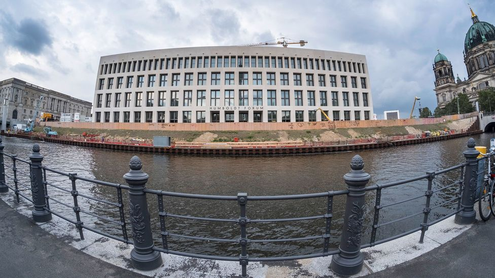 The very-nearly completed Stadtschloss in Berlin has been extended, merging traditional and modern (Credit: Getty Images)