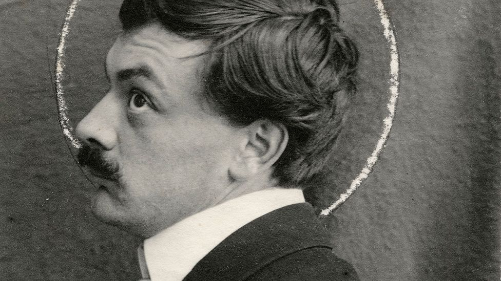 Anonymous, portrait photograph of Koloman Moser, c. 1903 (Credit: MAK)