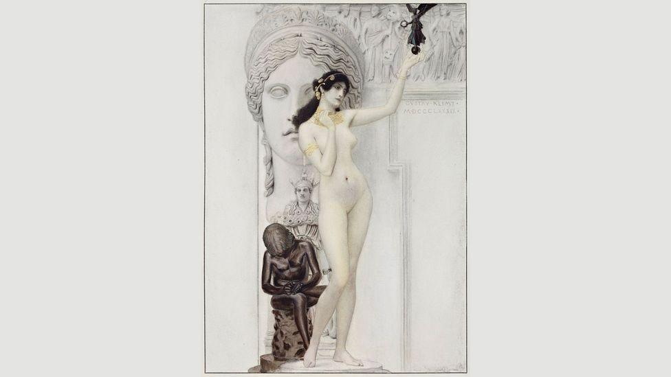 Gustav Klimt, Allegory of Sculpture, 1889 (Credit: MAK/Georg Mayer)