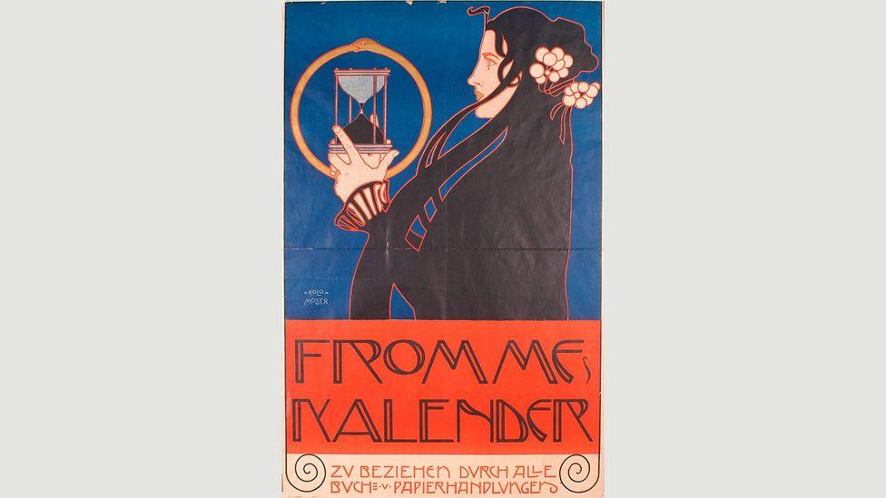 Koloman Moser, Frommes Kalender [Fromme's Calendar], 1899 (Credit: MAK)