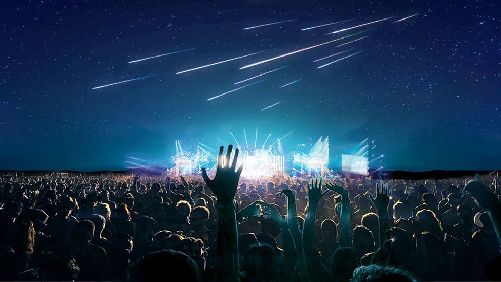 A Japanese company plans to create artificial meteor showers as the ultimate firework display - but are its plans feasible? (Credit: Astro Live Experiences)