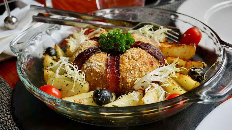 Macanese cuisine is recognised by Unesco as the world's first fusion food (Credit: Matthew Keegan)
