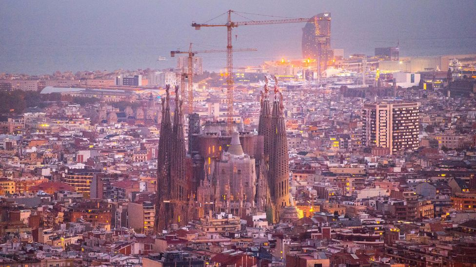 Some cathedrals, such as Spain's La Sagrada Familia have taken more than a century to complete (Credit: Getty Images)