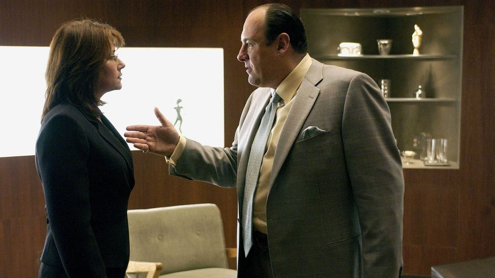 Tony Soprano is a mob boss who goes into therapy to deal with his overbearing mother (Credit: Alamy)