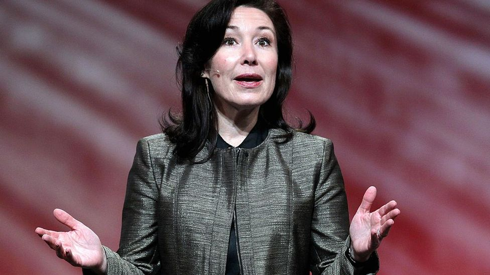 Safra Catz, CEO of Oracle, is the world's highest-paid executive, with annual earnings of over $40 million (Credit: Getty Images)