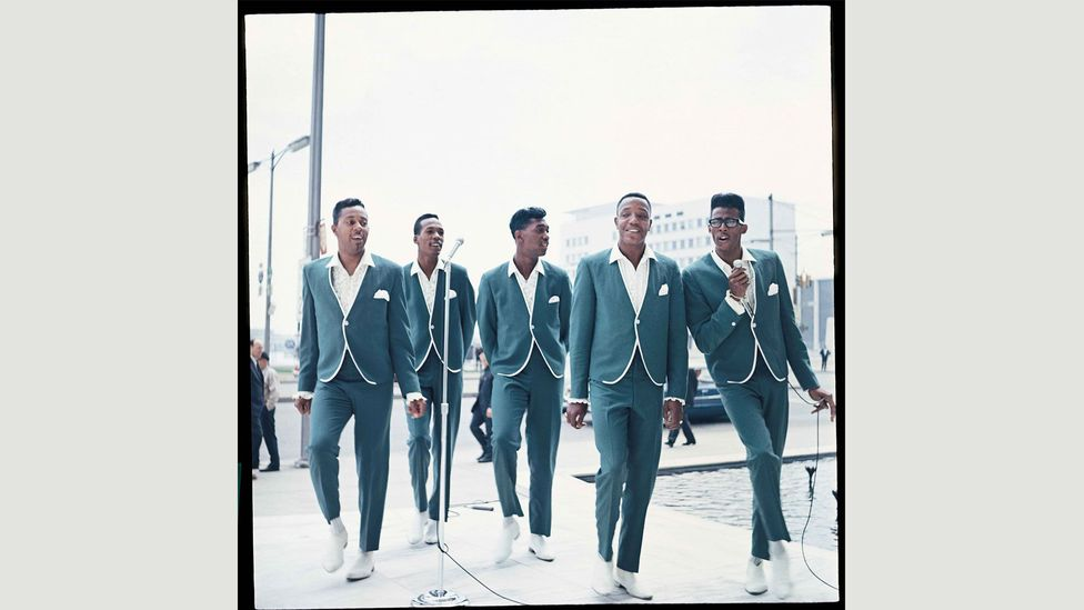 The Temptations perform their signature hit My Girl in 1965 (Courtesy of EMI Archive Trust and Universal Music Group)