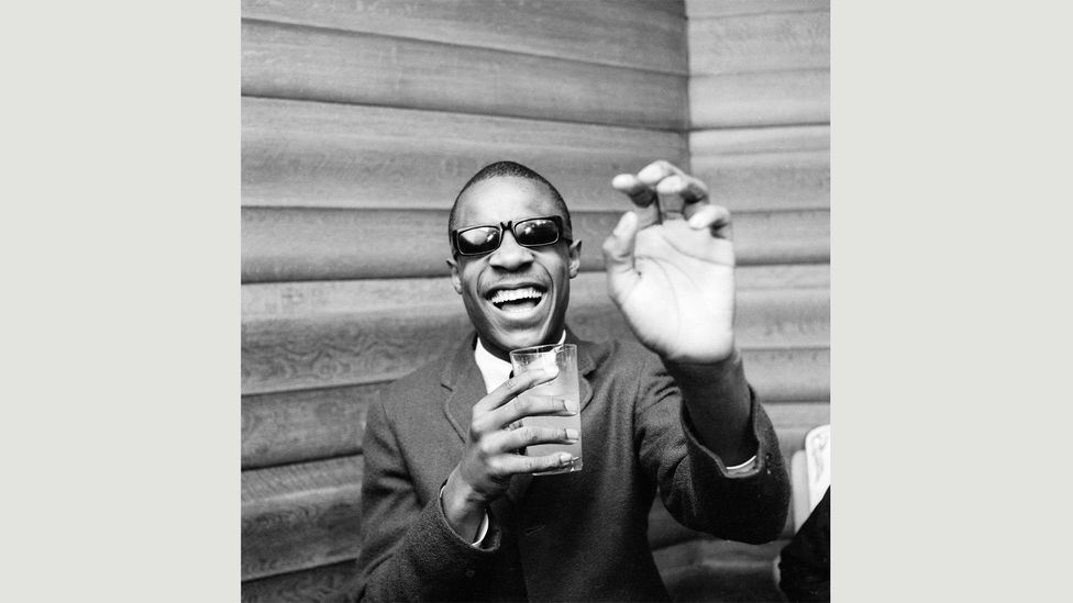 Stevie Wonder in London in early 1966 promoting Uptight (Everything's Alright), the musician's first British chart success (Courtesy: EMI Archive Trust and Universal Music Group)