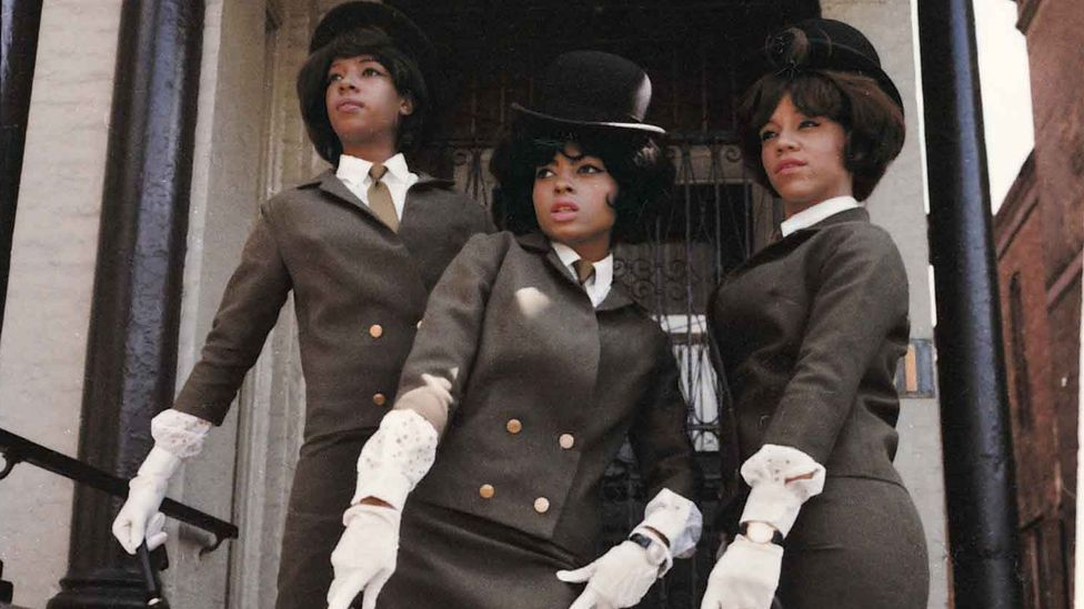 The Supremes in London, 1964 (Credit: EMI Archive Trust and Universal Music Group, taken from Motown: The Sound of Young America, Adam White & Barney Ales, Thames & Hudson)