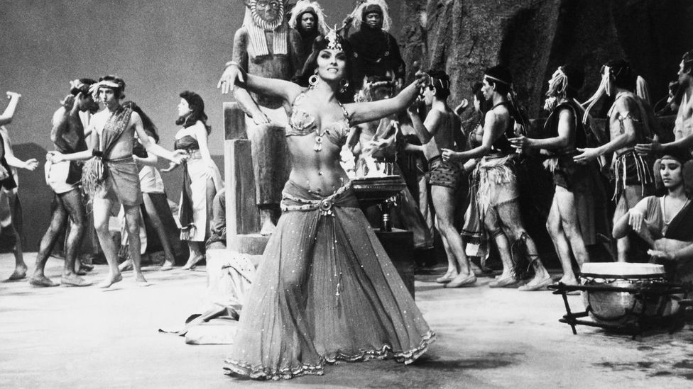 Italian actress Gina Lollobrigida played the role of the Queen of Sheba in the 1959 film Solomon and Sheba (Credit: Getty Images)