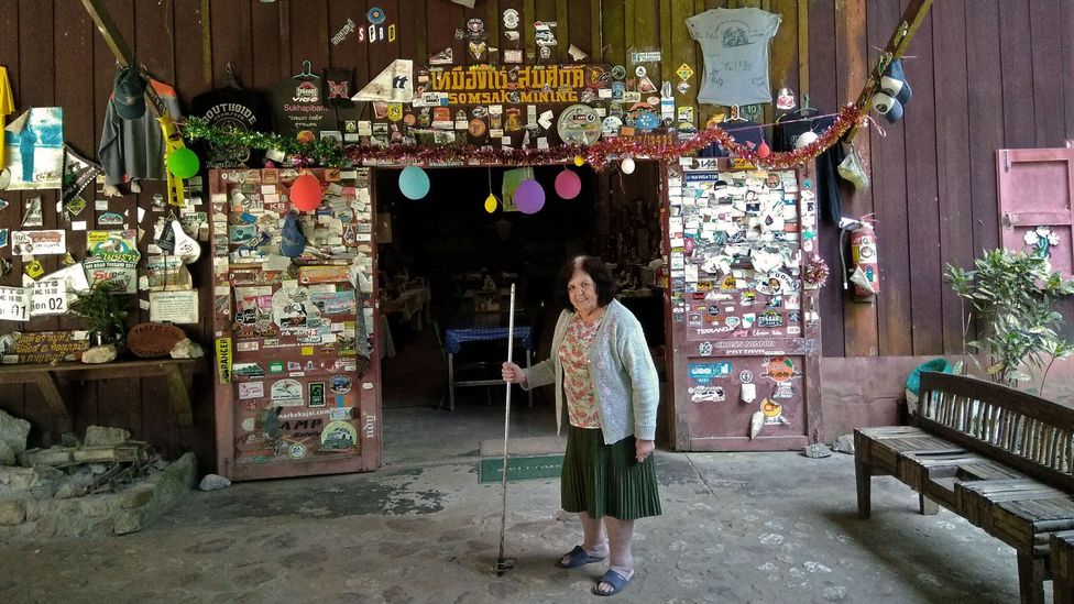 Glennis Setabandhu has operated a guesthouse deep in the forest of western Thailand for almost 30 years (Credit: John McMahon)