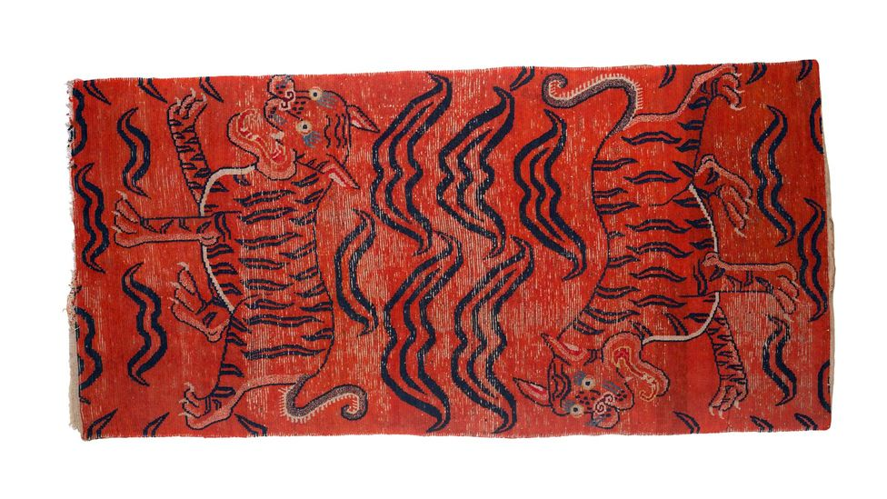 Tibetan rugs were originally created for monks to use while meditating (Credit: Dan Fontanelli)
