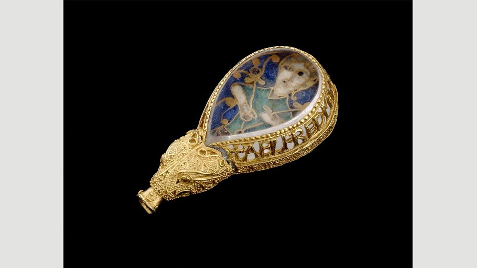 The Alfred Jewel, late 9th Century (Credit: Ashmolean Museum, University of Oxford)
