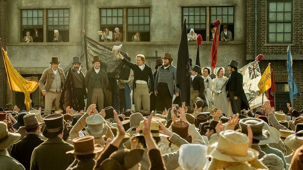 Mike Leigh's historical drama Peterloo centred on a political massacre in Britain in 1819 (Credit: Amazon Studios)