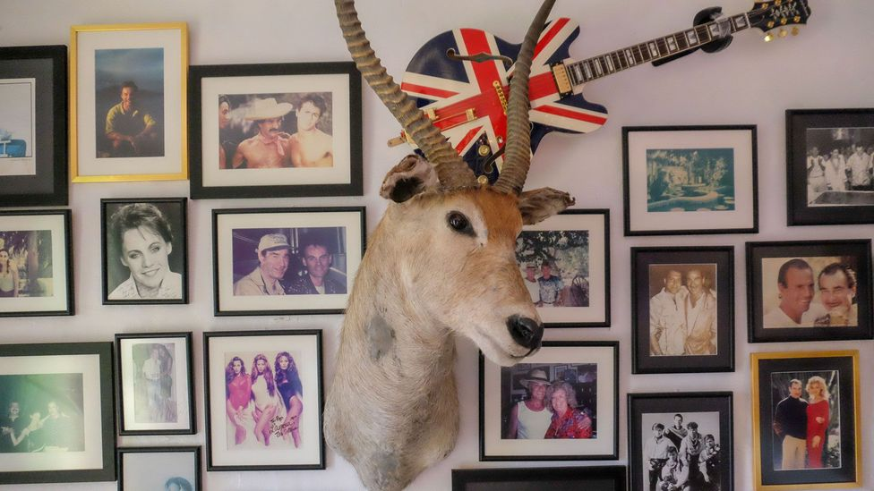 Pikes Hotel became the go-to spot for rock 'n' roll legends like Freddie Mercury and Wham! (Credit: Emma Cooke)
