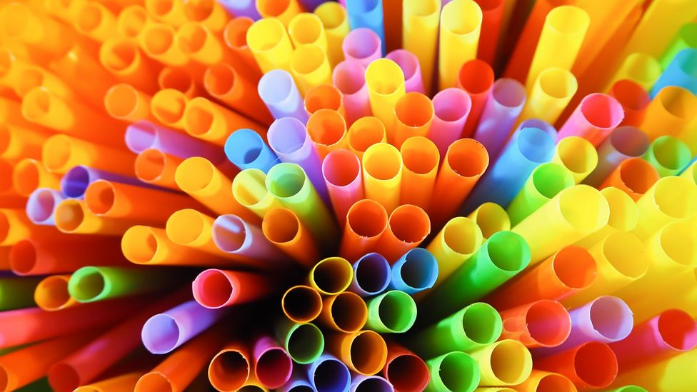 Disposable plastic - like drinking straws - are creating a worldwide waste crisis (Credit: Getty Images)
