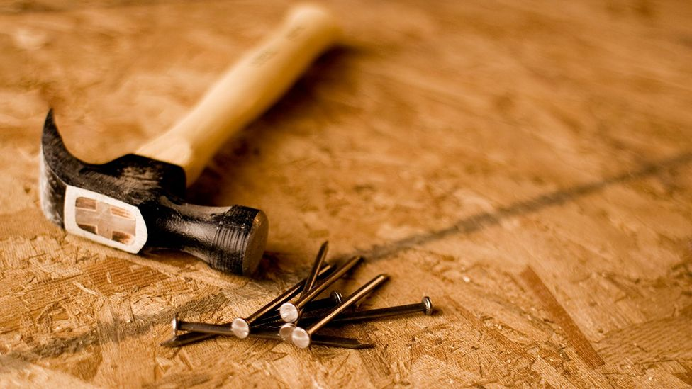 Particleboard contains glues which can leach toxic formaldehyde fumes (Credit: Getty Images)