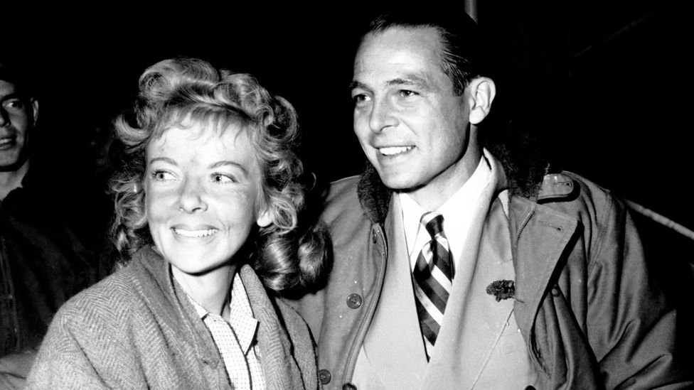 Lupino started a film company with her second husband, Collier Young; later she had a successful career as a television director (Credit: Alamy)