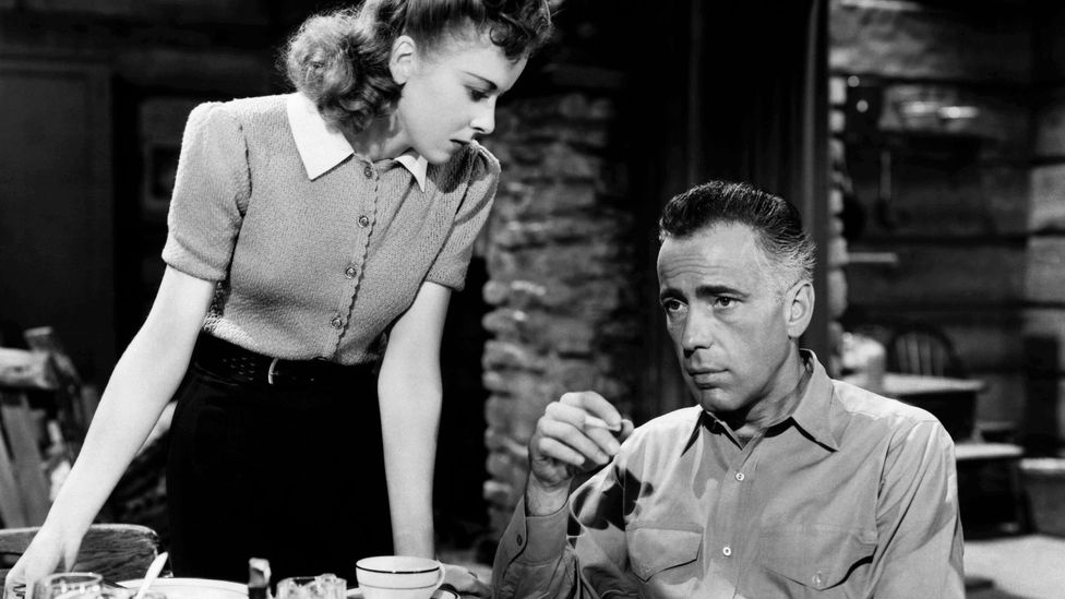 Lupino was an actress who had starred in films such as High Sierra with Humphrey Bogart (1941) (Credit: Alamy)