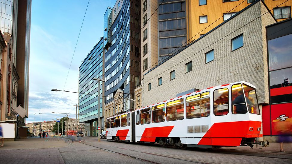 Estonia's capital Tallinn introduced free public transport six years ago, with some surprising results (Credit: Alamy)