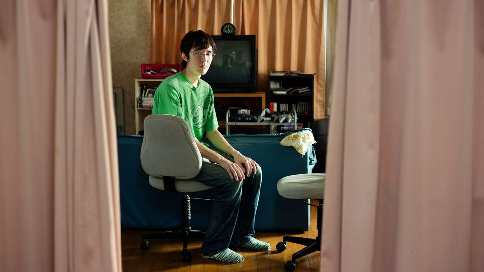 Internet addiction is sometimes blamed for the hikikomori's isolation, but some experts hope that it could help their rehabilitation too (Credit: Maika Elan)