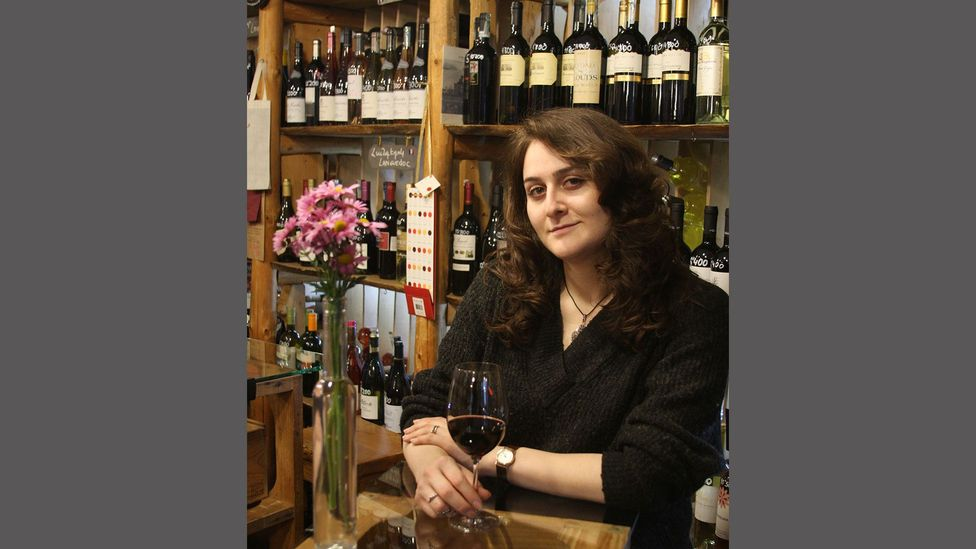 """Mariam Saghatelyan: """"How [our ancestors] would resolve different issues was always around a table with an alcoholic beverage"""" (Credit: In Vino)"""