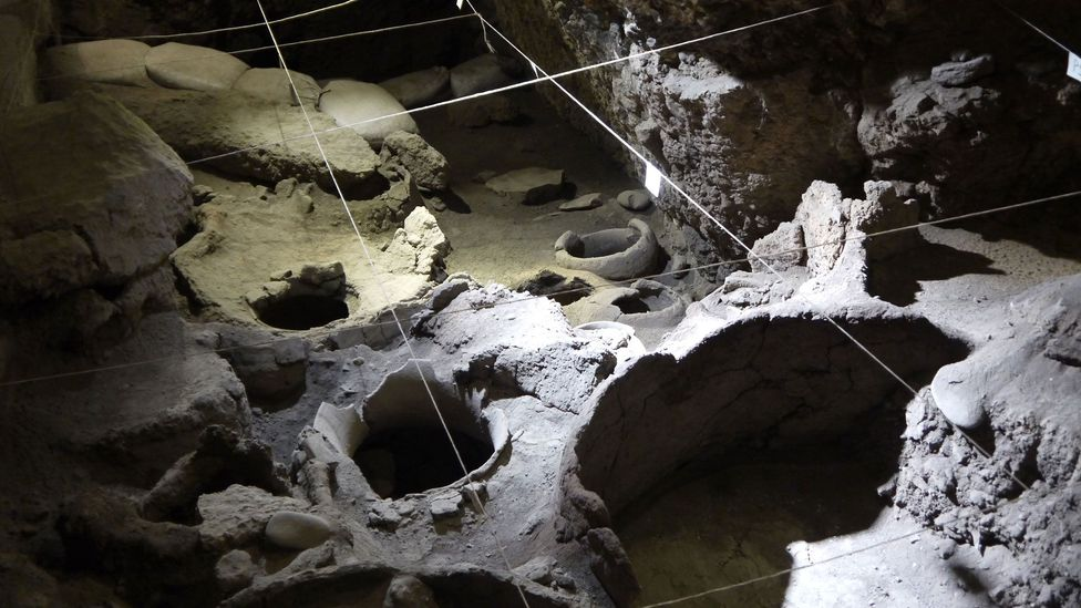 What are believed to be the world's oldest known traces of winemaking have been found at Armenia's 6,100-year-old Areni-1 archaeological site (Credit: Martin Guttridge-Hewitt)