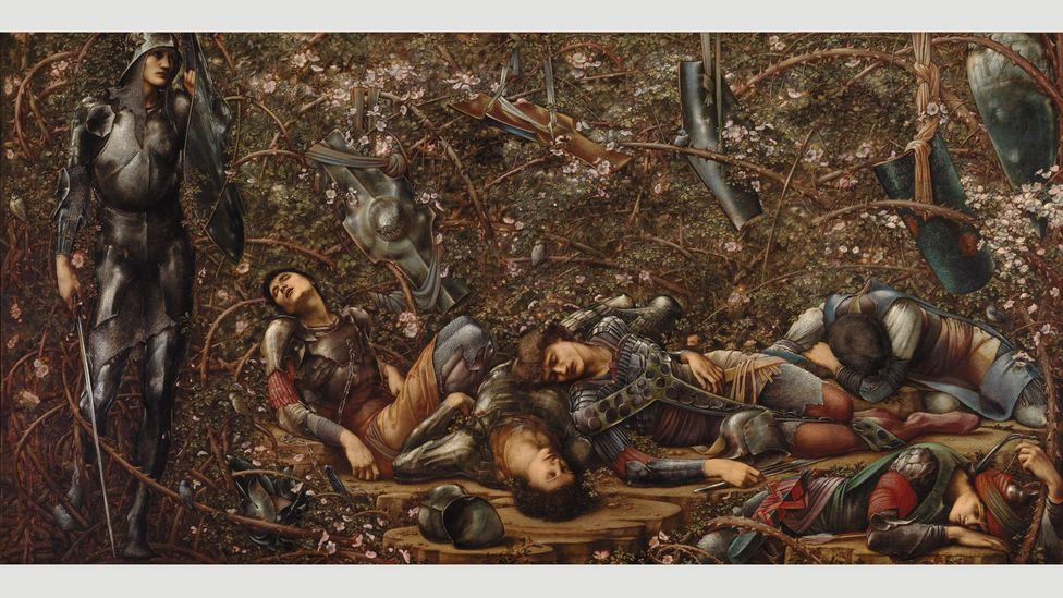 The Briar Wood by Burne-Jones, 1874-84 (Credit: The Faringdon Collection Trust)