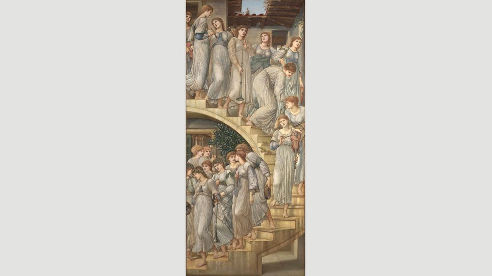 The Golden Stairs by Burne-Jones, 1880 (Credit: Tate Britain)
