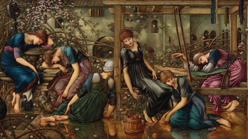 The Garden Court by Burne-Jones, 1874-84 (Credit: The Faringdon Collection Trust)