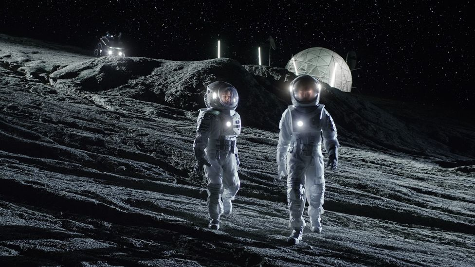 Any permanent Moon settlement may have to be mostly built underground to shield it from harmful cosmic radiation (Credit: Getty Images)