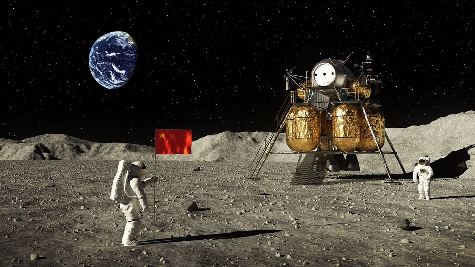 Getting to the Moon is mission enough - but how do you then build a shelter on it? (Credit: Getty Images)
