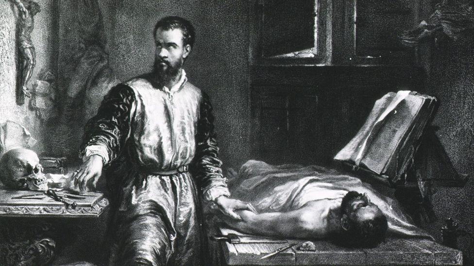 "Fabio Zampieri: ""Vesalius revolutionised the teaching of anatomy"" (Credit: Universal History Archive/Getty Images)"