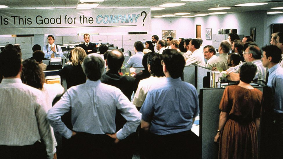 Office Space helped crystallise on screen the dull, oppressive, company-first work culture that came to dominate white-collar jobs in the 1990s (Credit: Alamy Stock Photo)