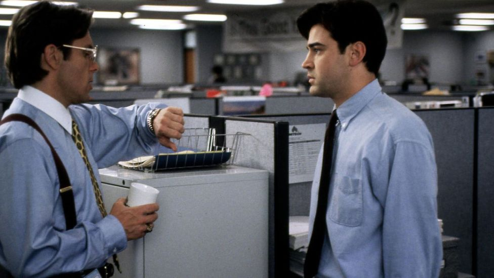 The undermining boss and stifling work culture depicted in the film reflected realities found in the actual white-collar workforce (Credit: Alamy Stock Photo)