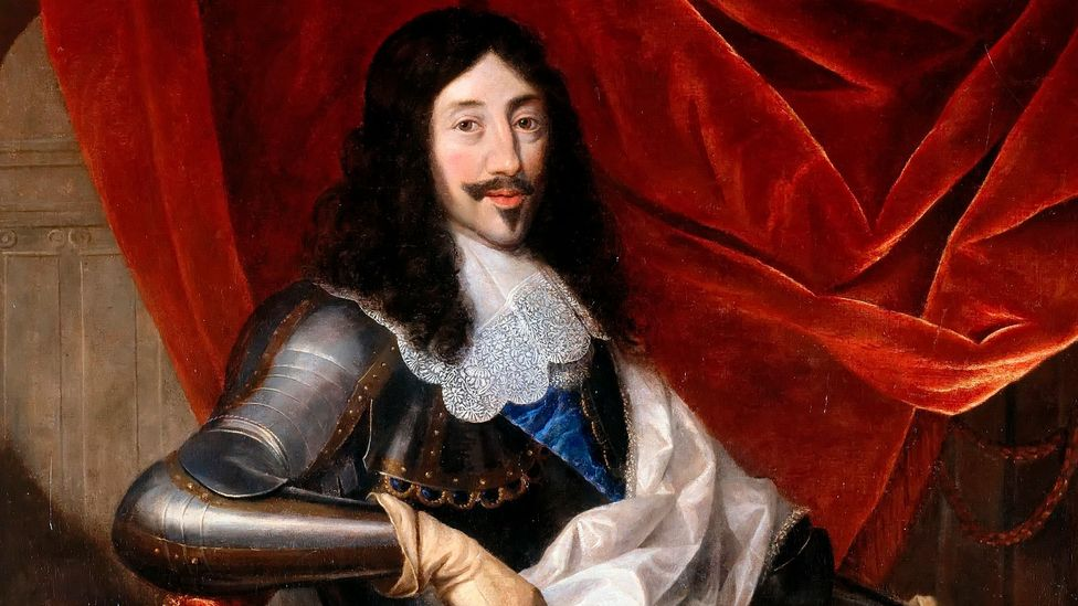A portrait by Justus van Egmont of Louis XIII, who was a fan of makeup (Credit: Getty Images)
