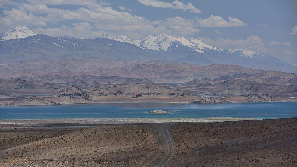 Lake Karakul in Tajikistan is even higher than South America's fabled Lake Titicaca