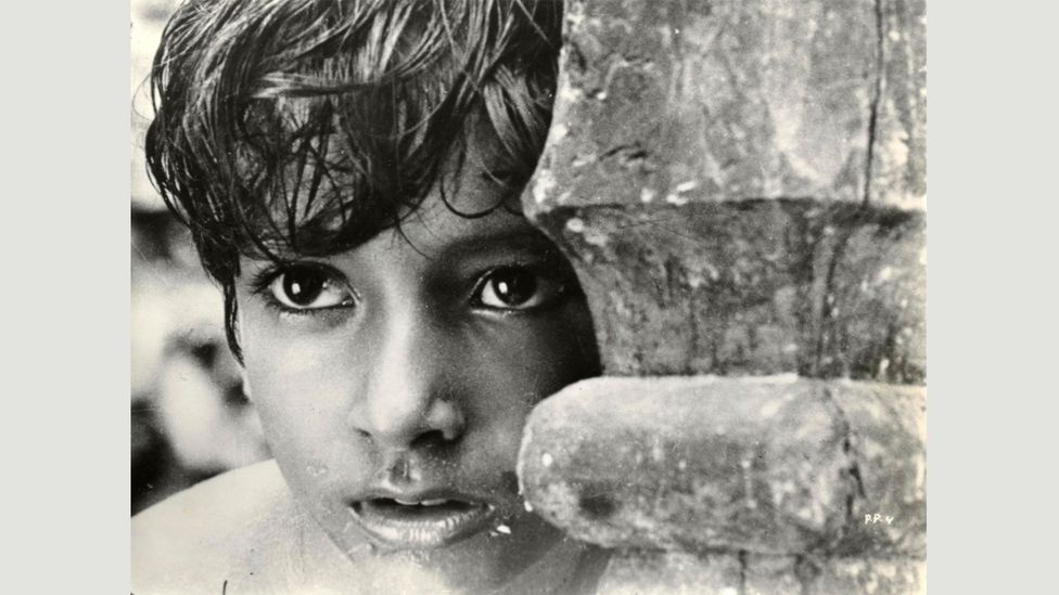 Pather Panchali is based onBibhutibhushan Bandyopadhyay's 1929 Bengalinovel of the same nameand was Ray's directorial debut (Credit: Alamy)