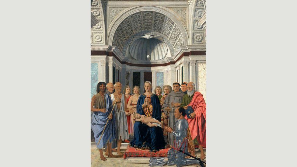 The Brera Madonna, 1472-74, by Piero della Francesca (Credit: Public domain)