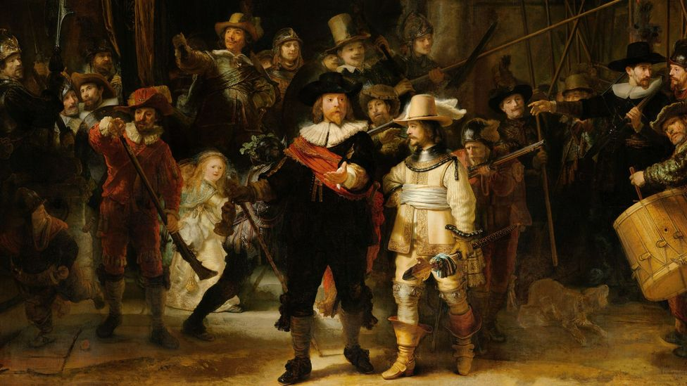 Rembrandt, The Night Watch (Credit: Getty)