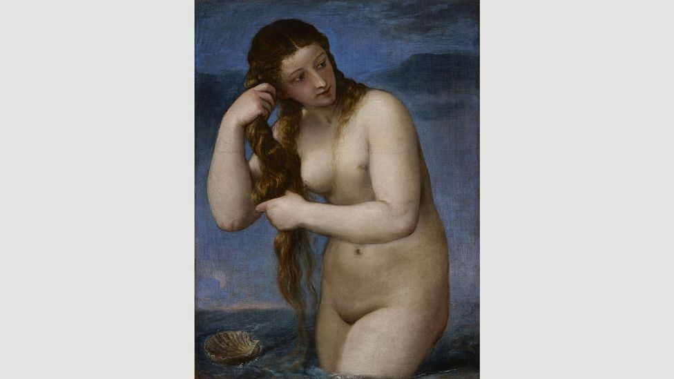 Titian, Venus Rising from the Sea, c. 1520 (Credit: National Galleries of Scotland)