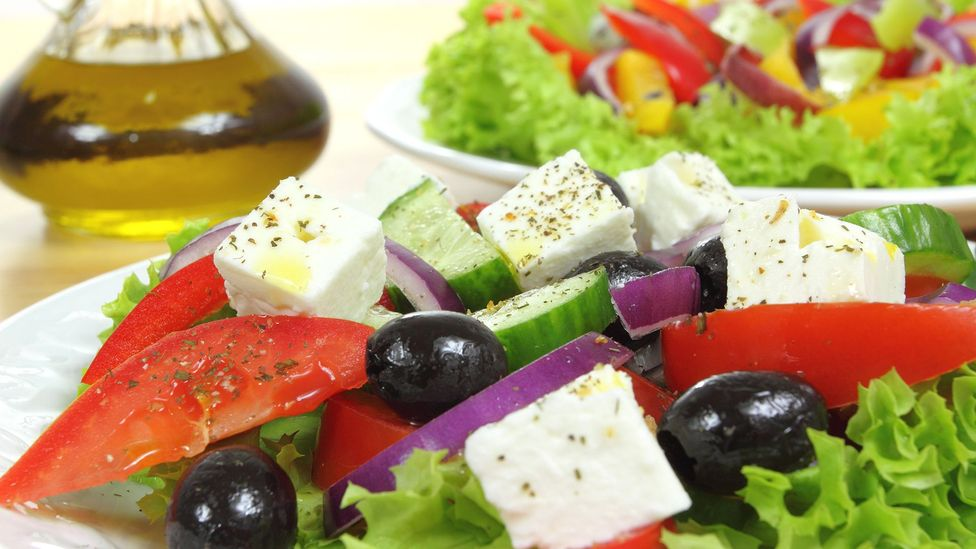 The Mediterranean Diet, with manyfruit and vegetables, healthy oils and little processed food, is believed to have a powerfully positive effect (Credit: Getty Images)