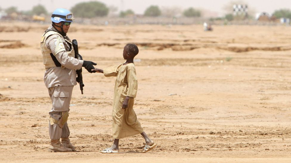 Using artificial intelligence to predict where and when conflicts might escalate could help peacekeepers intervene sooner (Credit: Getty Images)