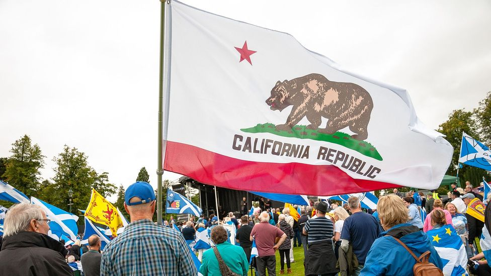 A Californian secession could cause a snowball effect (Credit: Getty)